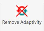 Remove Adaptivity Screen View